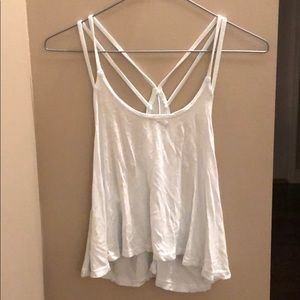 Brandy Melville Cropped Strapped Back Tank